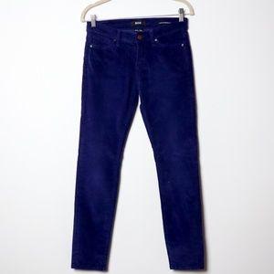 BAD   UO Navy Corduroy Skinny Pants
